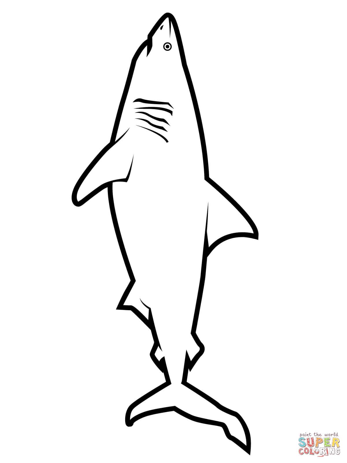 Free Printable Shark Coloring Pages At Getdrawings