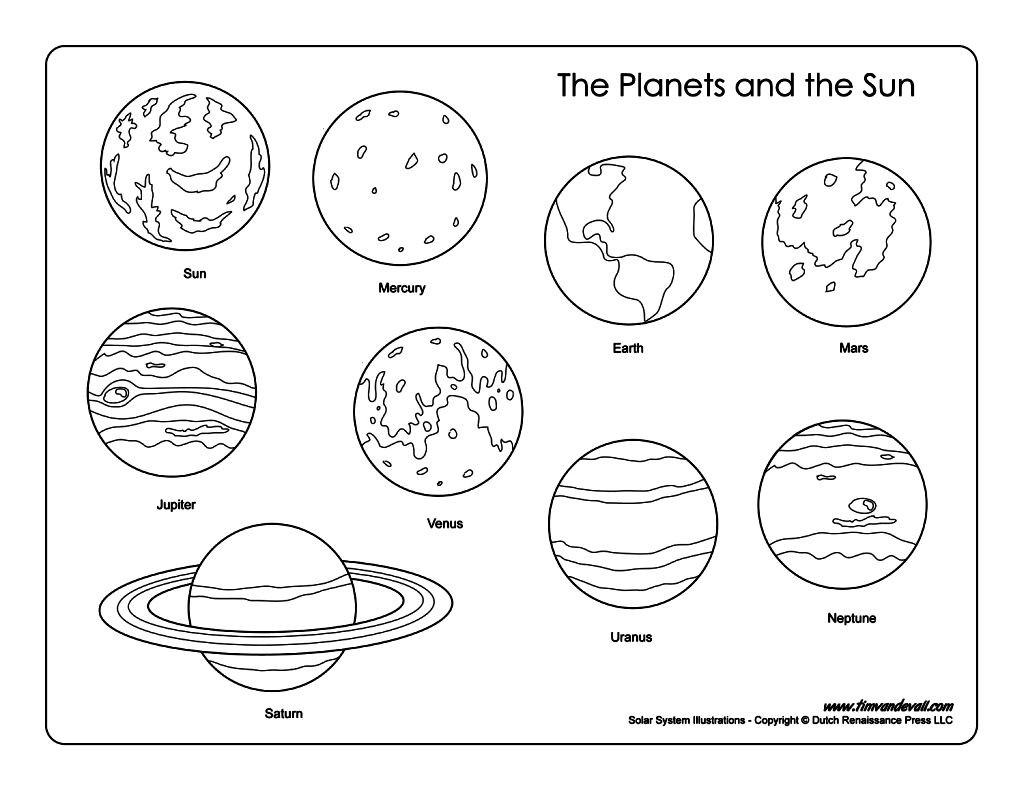 Free Printable Solar System Coloring Pages At Getdrawings