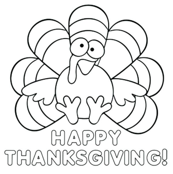 free printable turkey coloring pages # 41