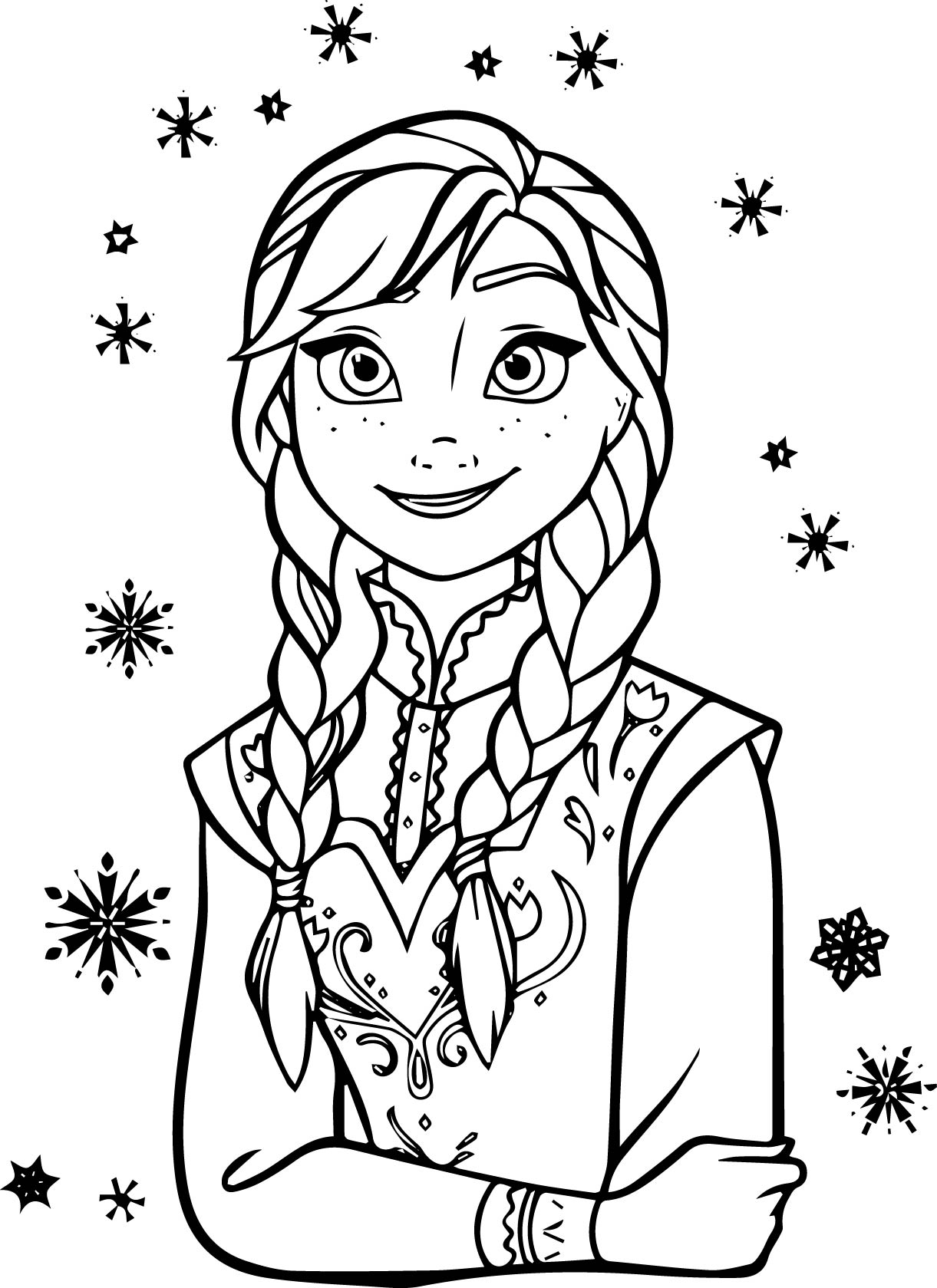 Frozen Coloring Pages Free Printables At Getdrawings