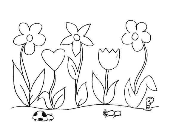 garden coloring page # 51
