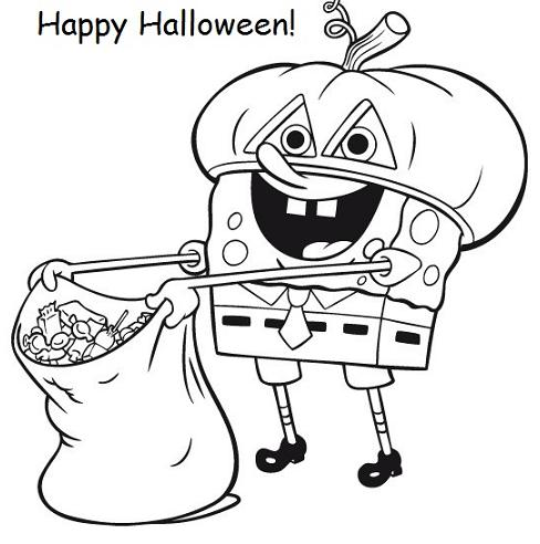 coloring pages halloween # 27