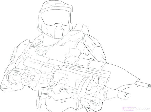 coloring pages halo # 42