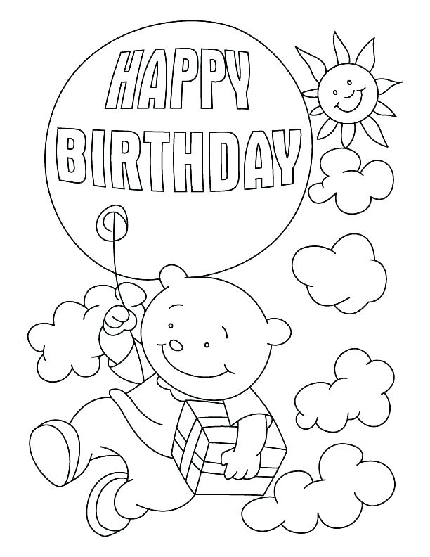 happy birthday grandma coloring pages at getdrawings