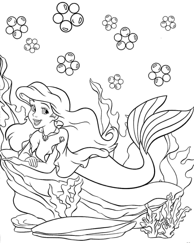 Happy Birthday Princess Coloring Pages At Getdrawings