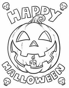 coloring halloween pages # 49