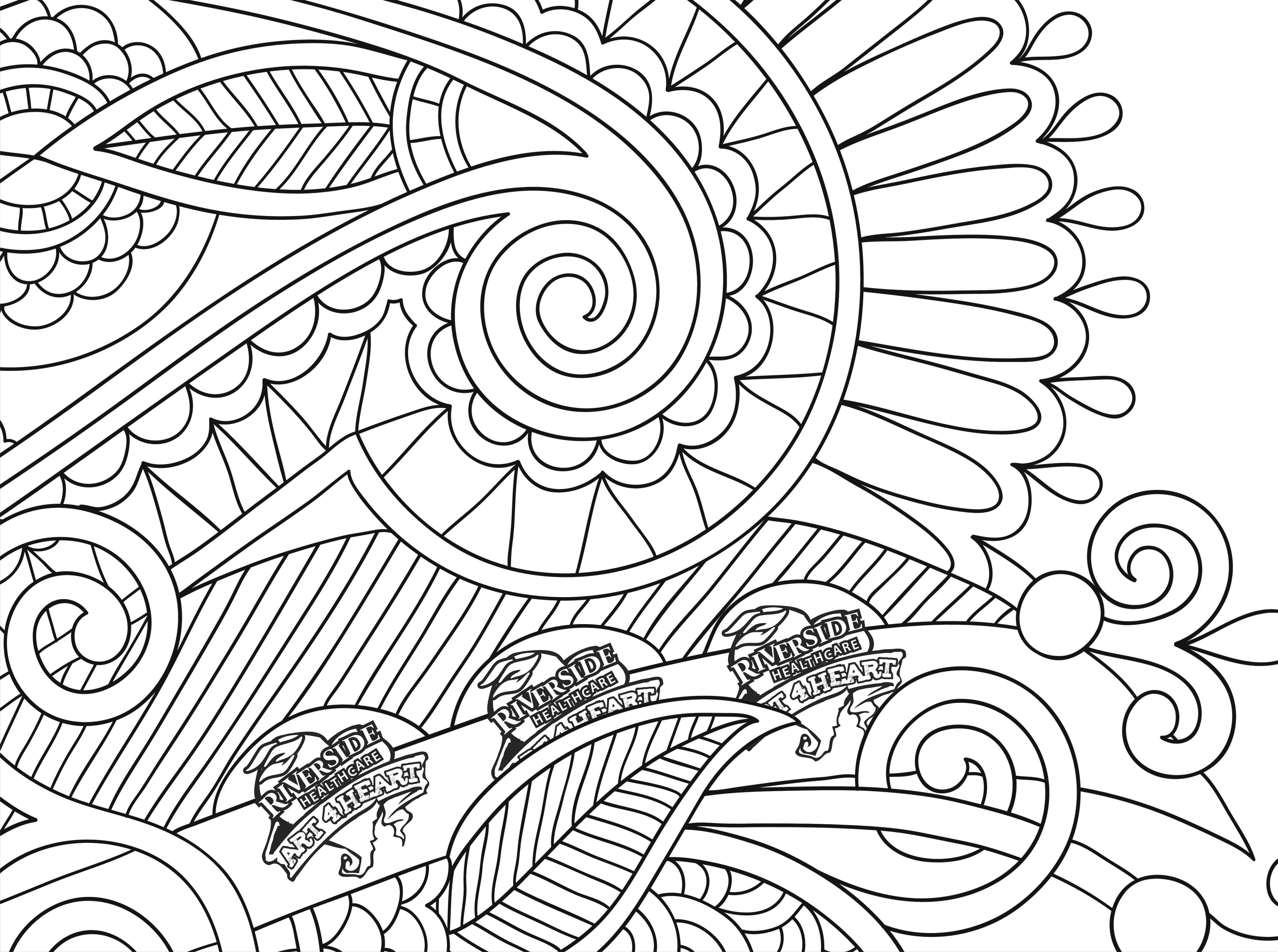 Hearts Coloring Pages For Adults At Getdrawings