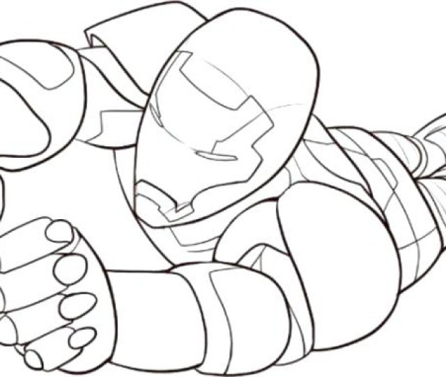 Iron Man Coloring Pages Free Printable At Getdrawings Free Download