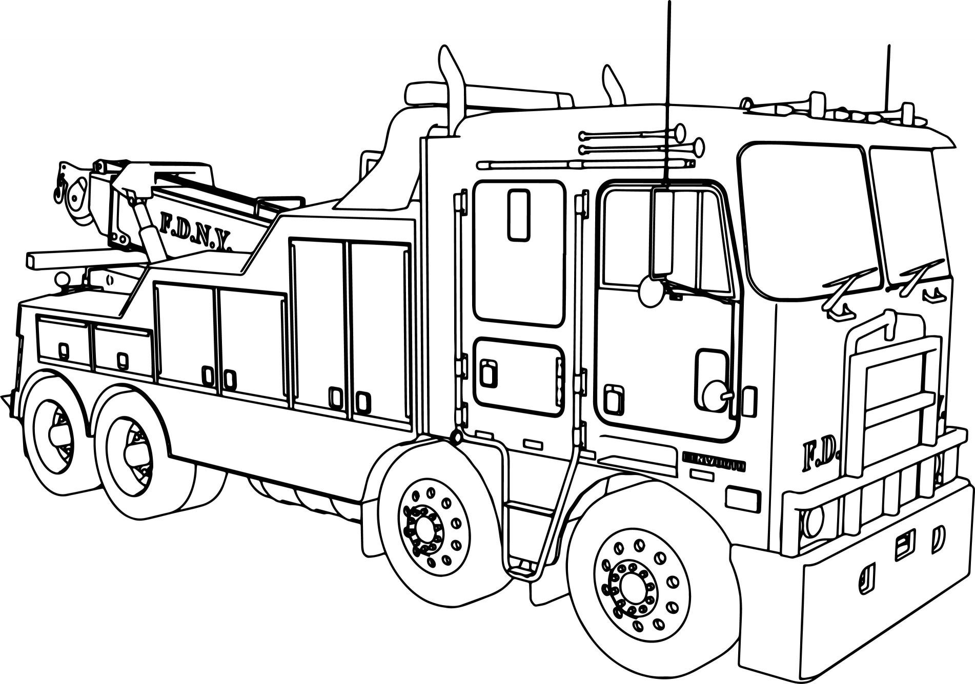 Kenworth Coloring Pages At Getdrawings