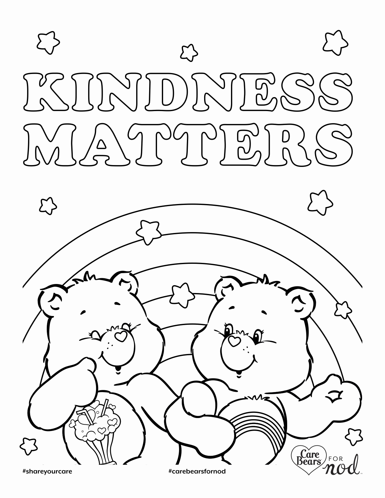 Showing Kindness Coloring Pages At Getdrawings