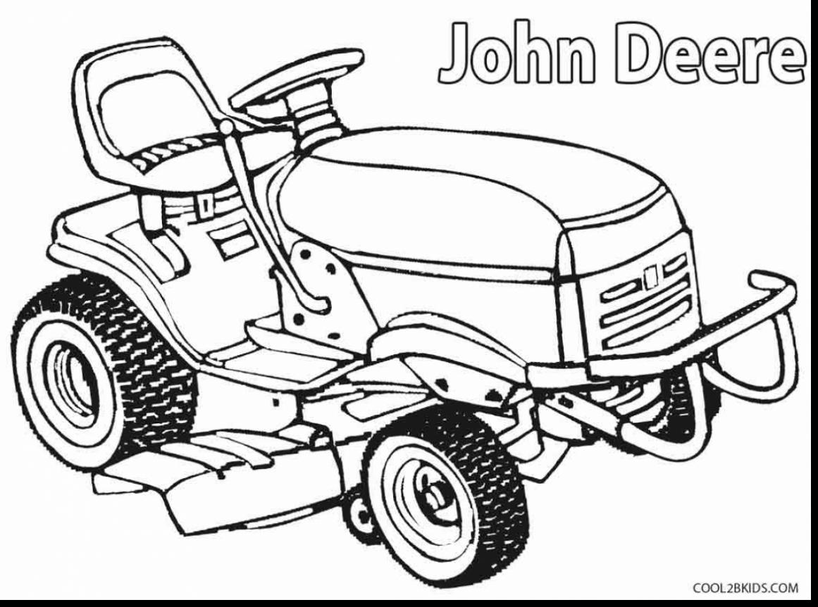 Lawn Mower Coloring Page At Getdrawings
