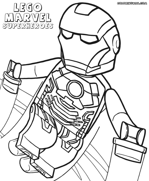 lego marvel superheroes coloring pages # 92