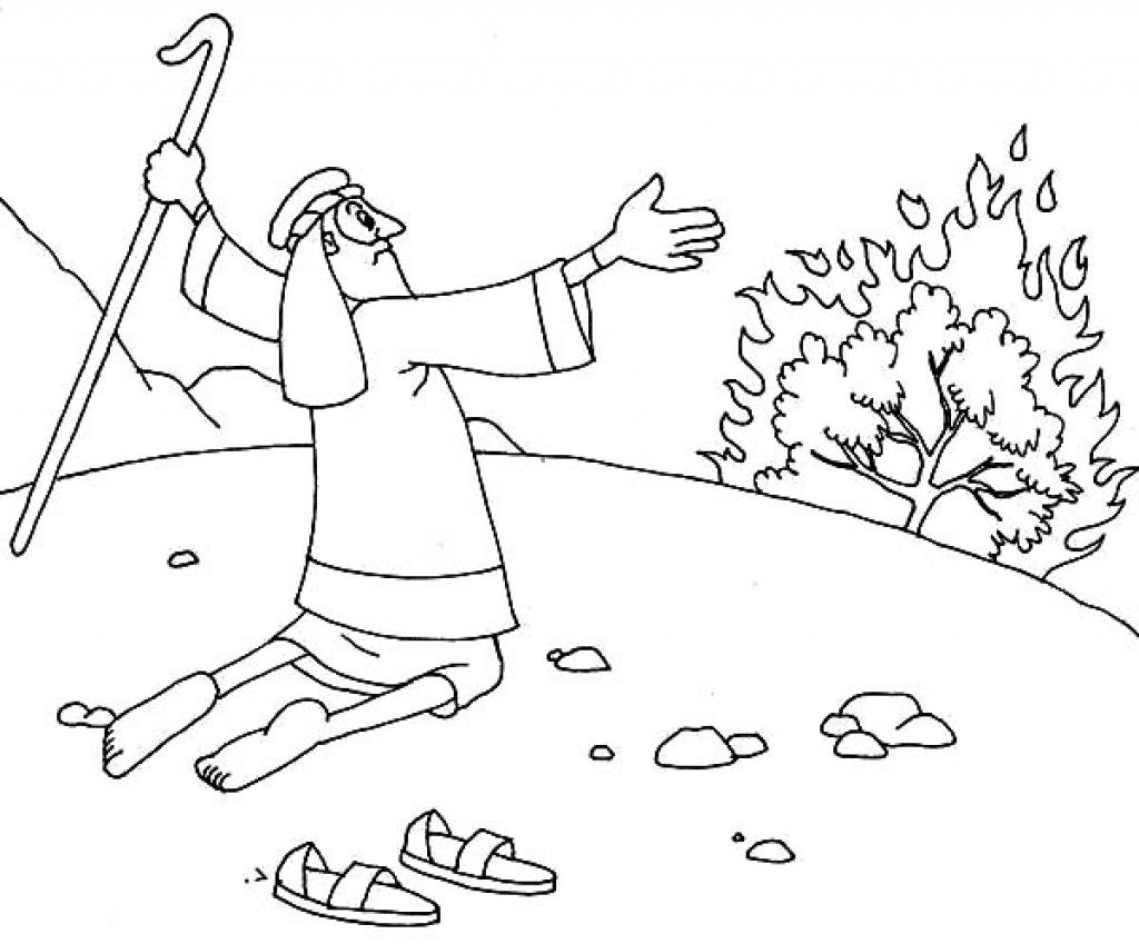 Moses And Pharaoh Coloring Pages At Getdrawings