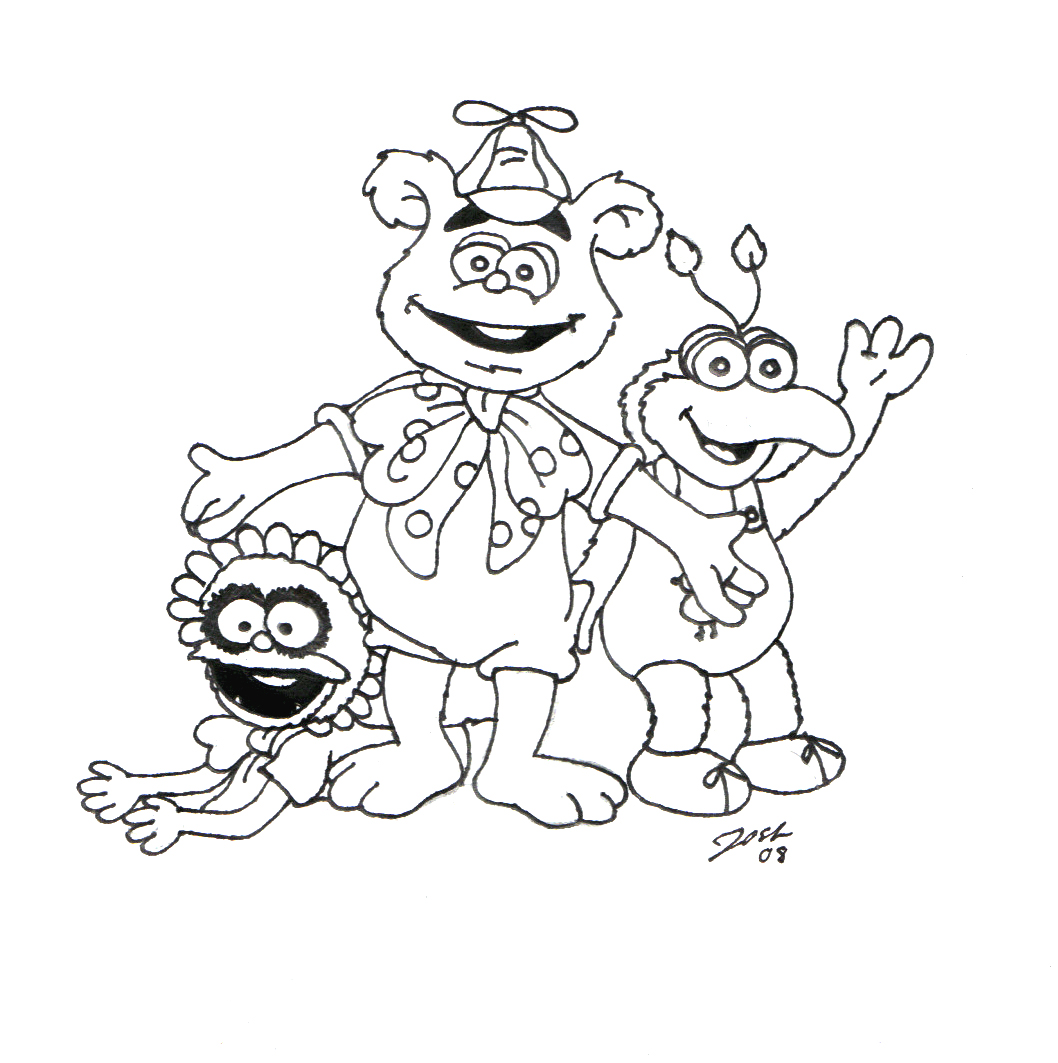 The Best Free Fozzie Coloring Page Images Download From 4