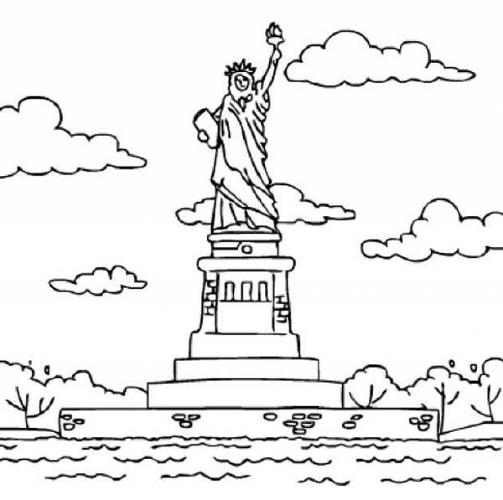 New Jersey Coloring Page At Getdrawings