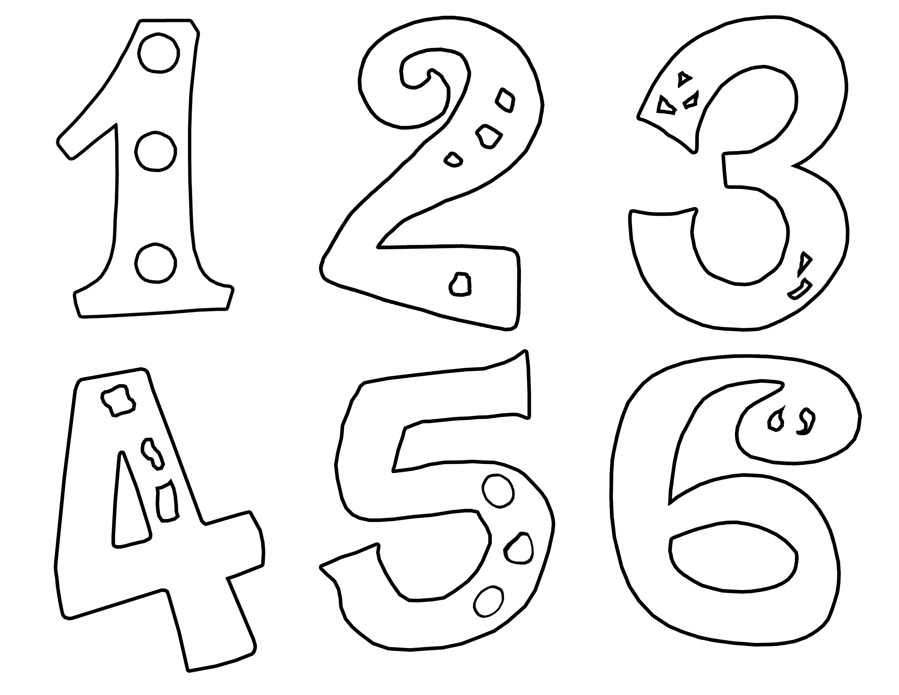 Numbers Clipart At Getdrawings