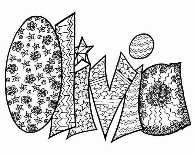 Olivia Coloring Pages – homeicon.info