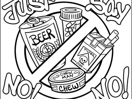 red ribbon week coloring pages # 80