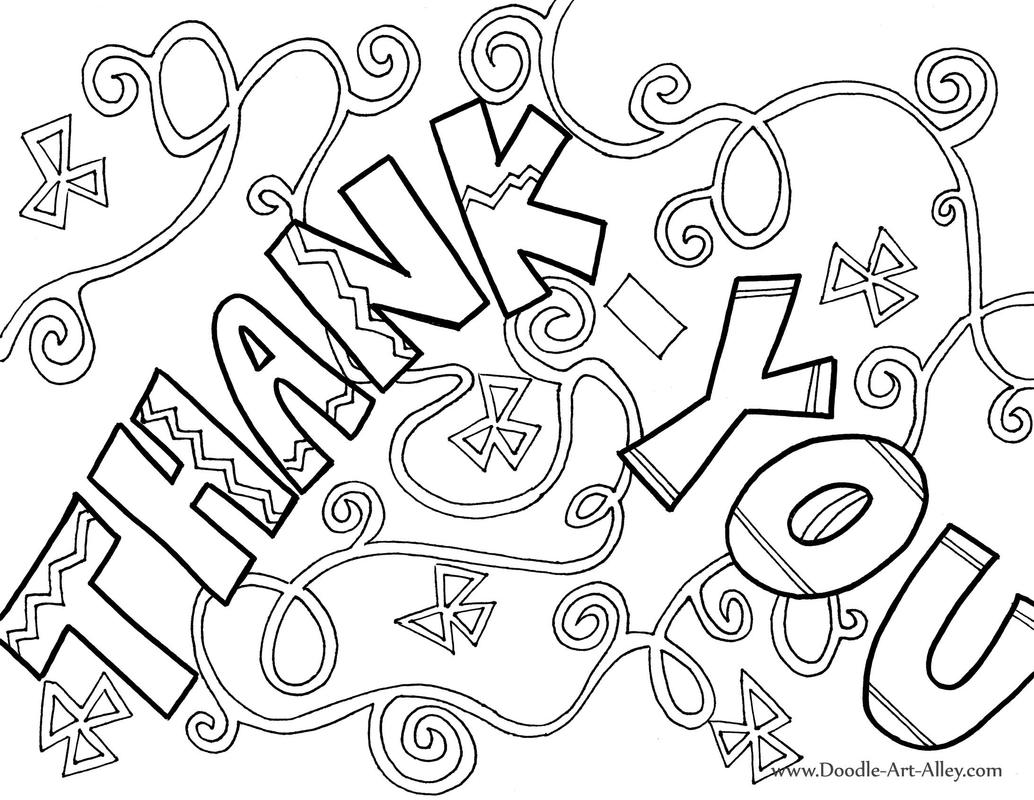 Please And Thank You Coloring Pages At Getdrawings