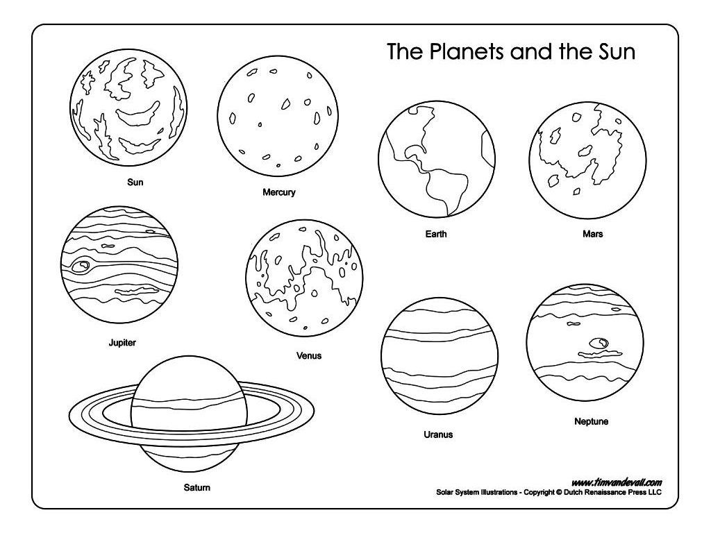 Pluto Planet Coloring Pages At Getdrawings
