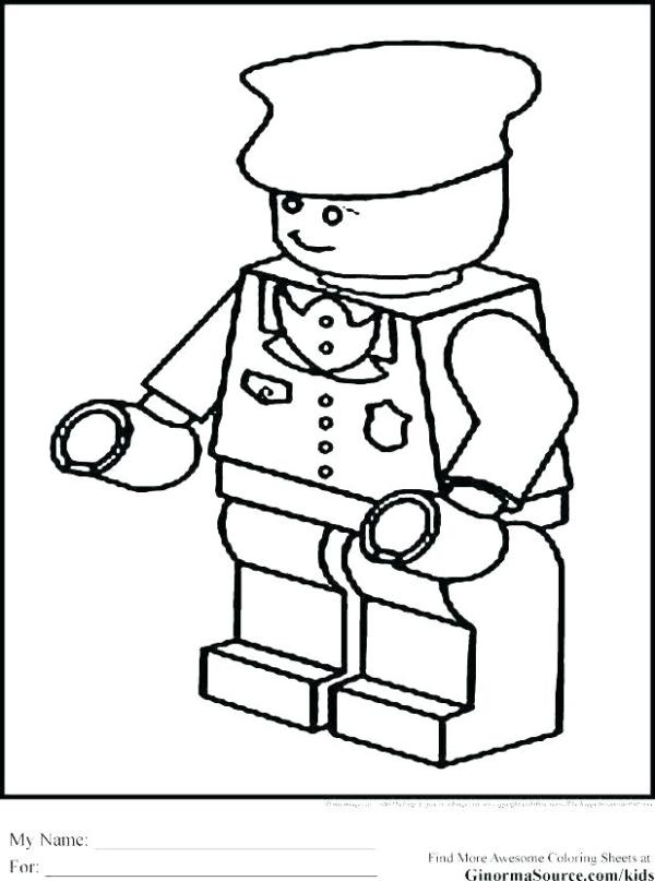 policeman coloring page # 82