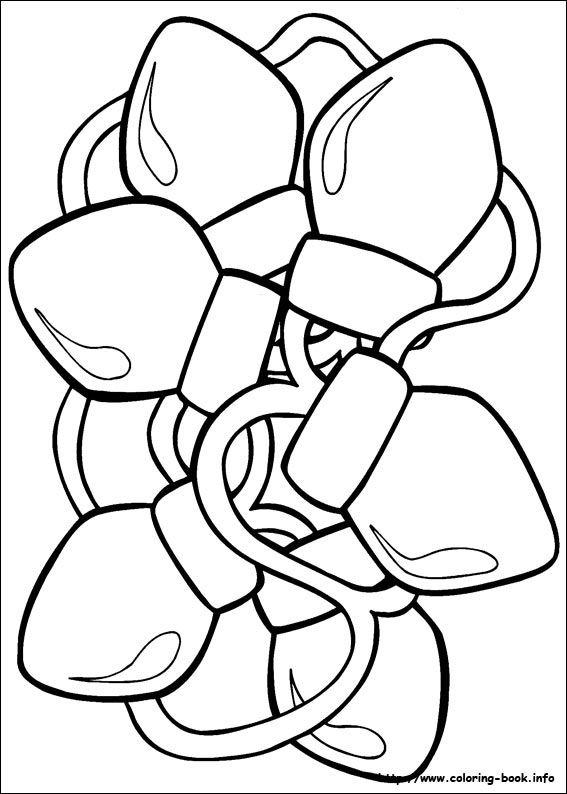 preschool christmas coloring pages # 49