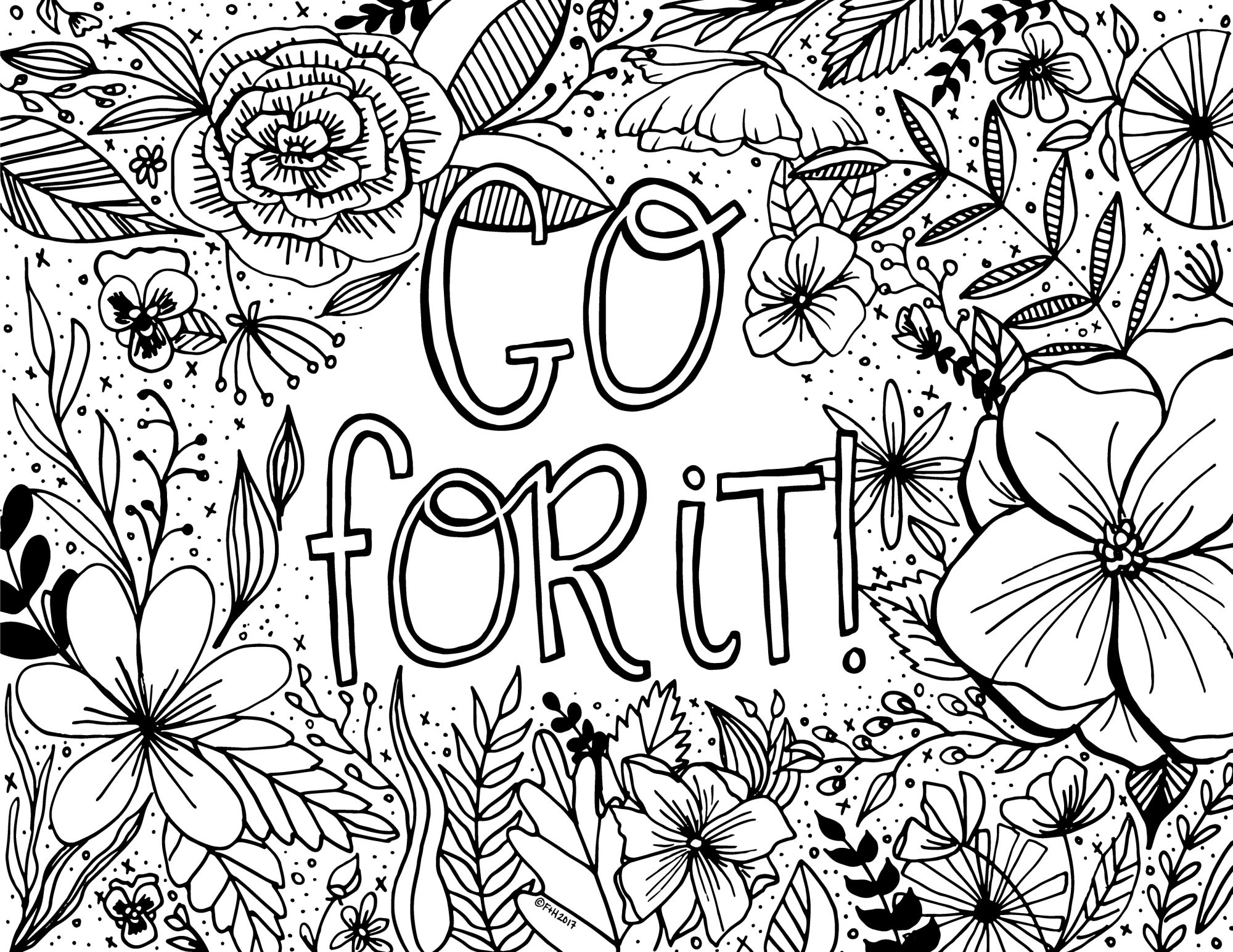 Printable Coloring Pages At Getdrawings