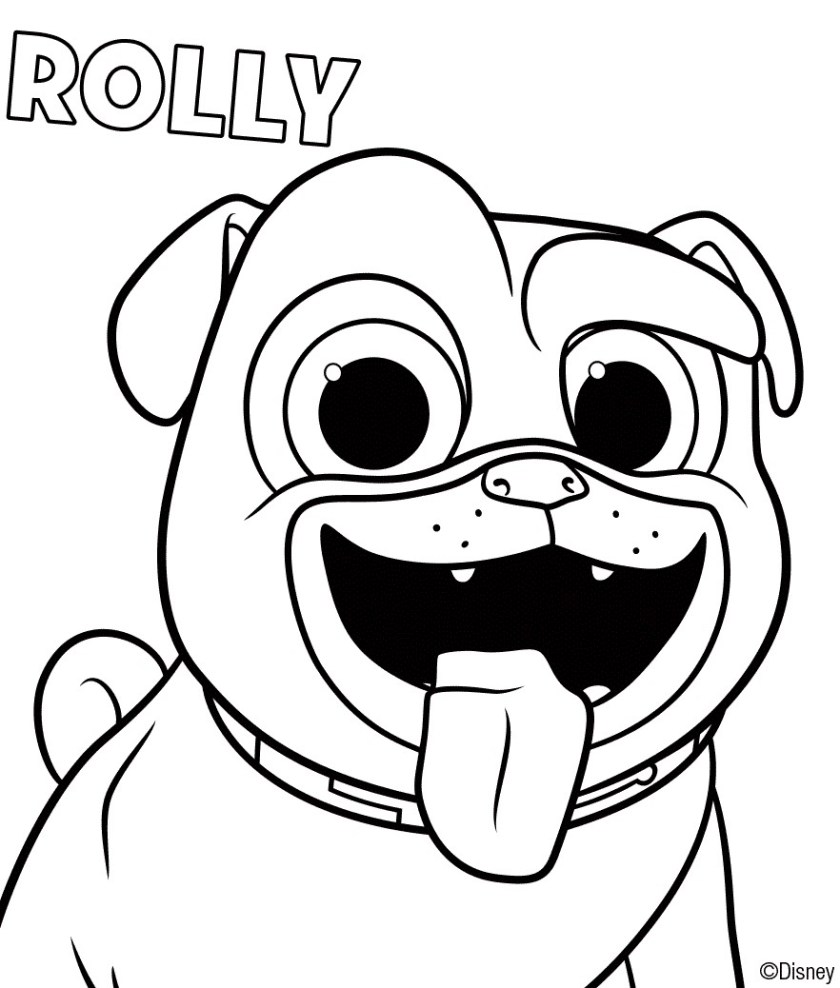puppy dog pals coloring pages at getdrawings  free download