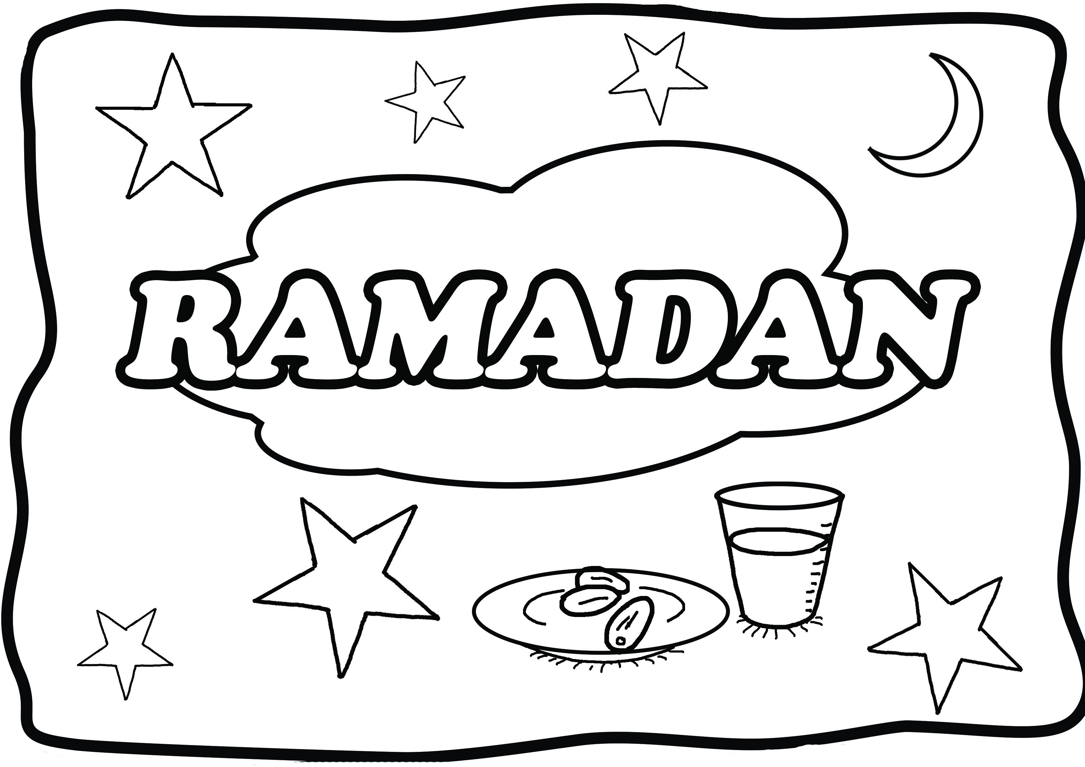 The Best Free Ramadan Coloring Page Images Download From