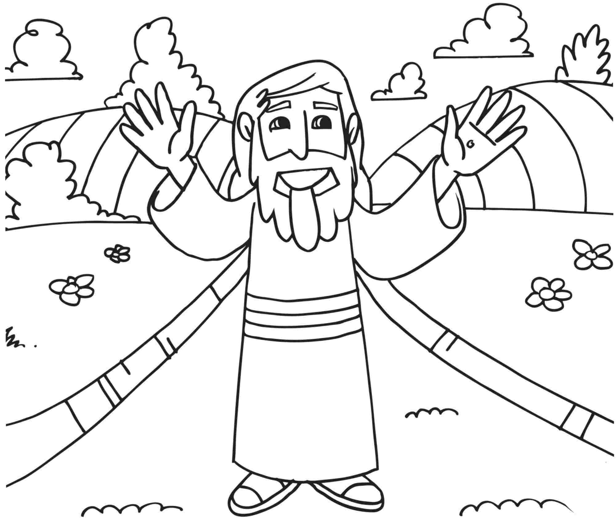 Religious Easter Coloring Pages Printable At Getdrawings