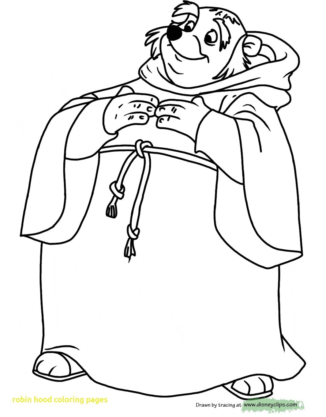 Robin Outline Drawing At Getdrawings