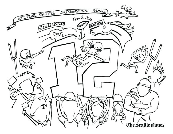 seattle seahawks logo coloring pages at getdrawings  free