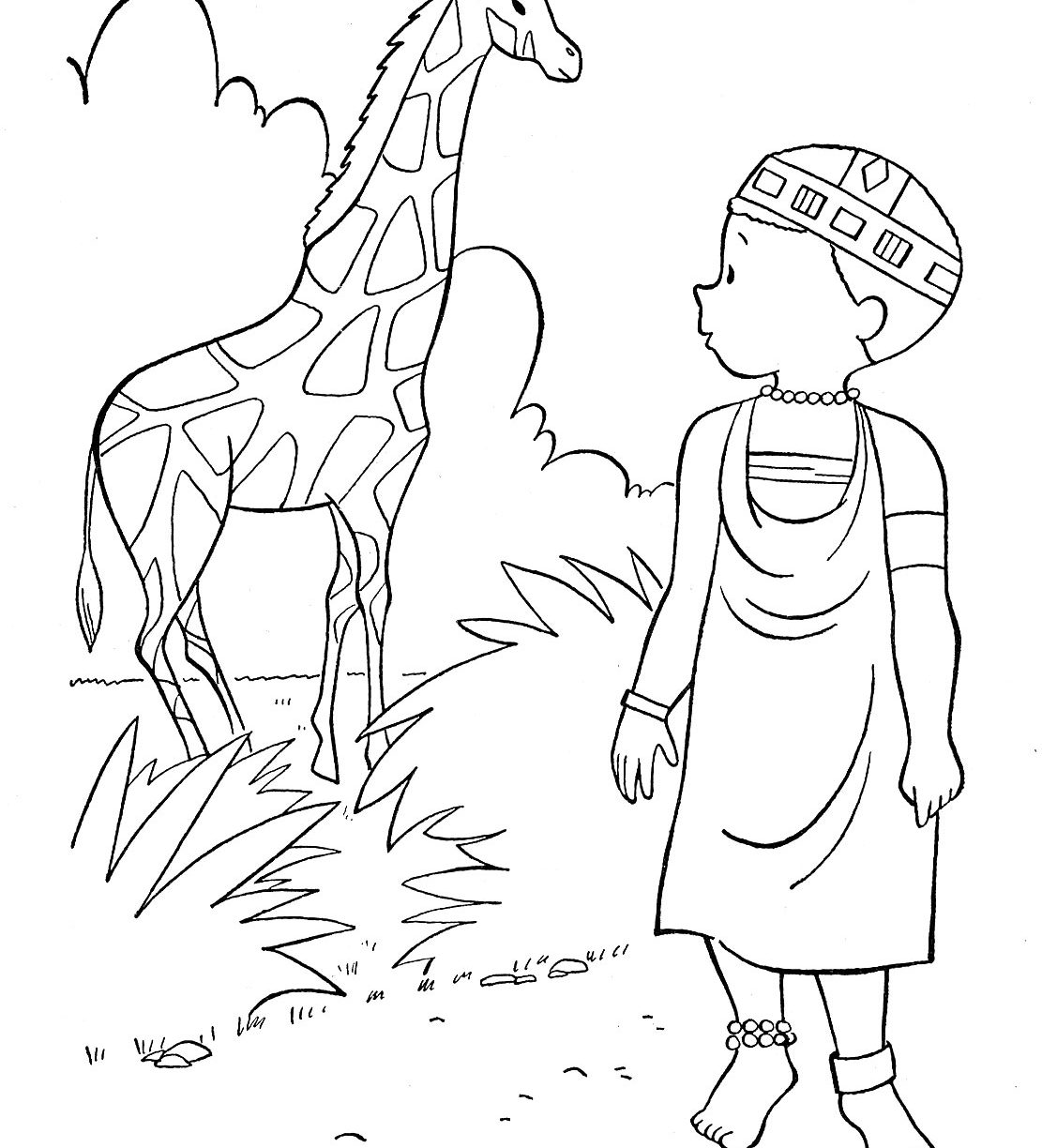 Seven Continents Coloring Page At Getdrawings