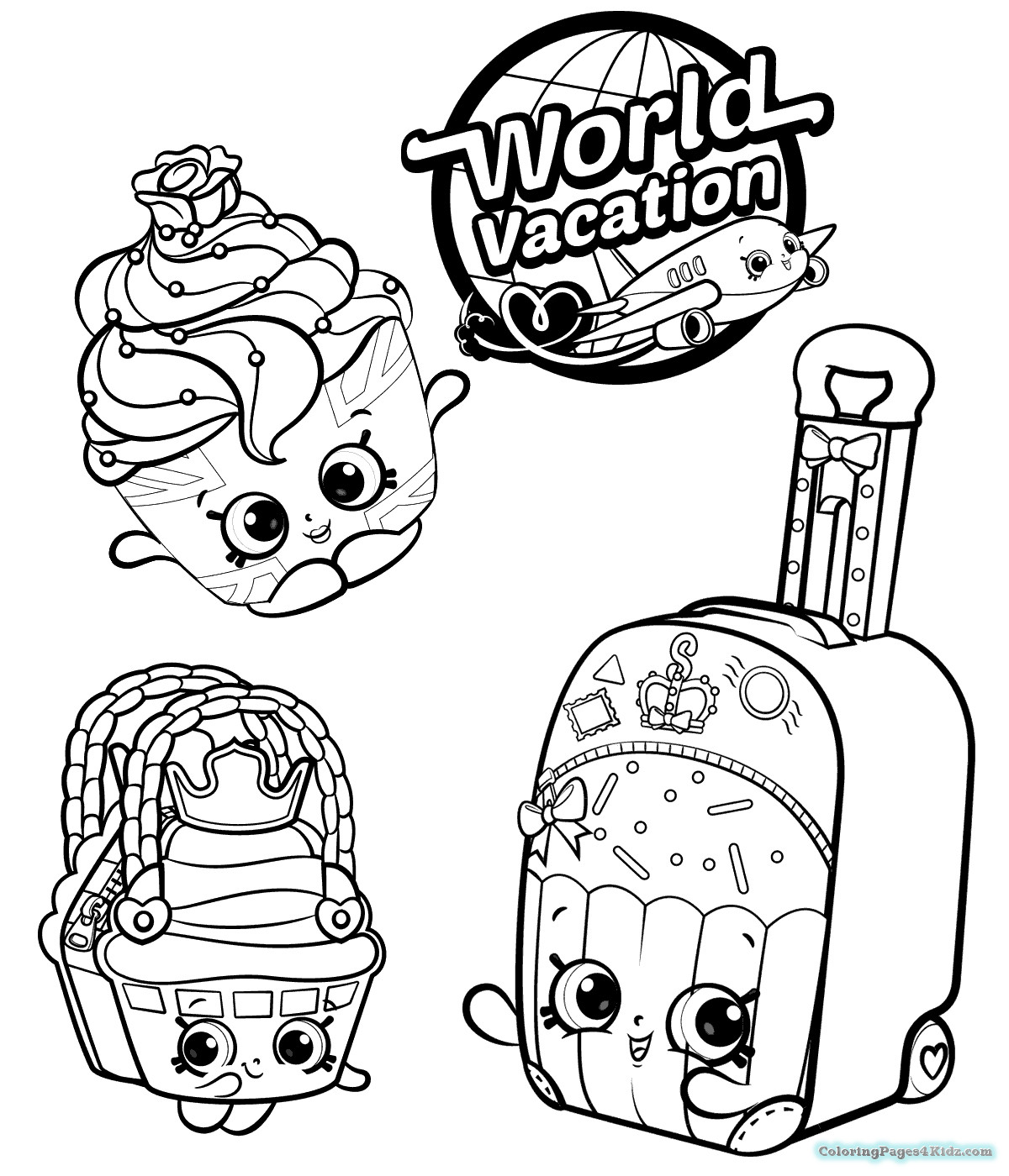 Search For Shopkins Drawing At Getdrawings