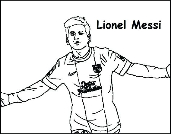 soccer coloring pages messi at getdrawings  free download