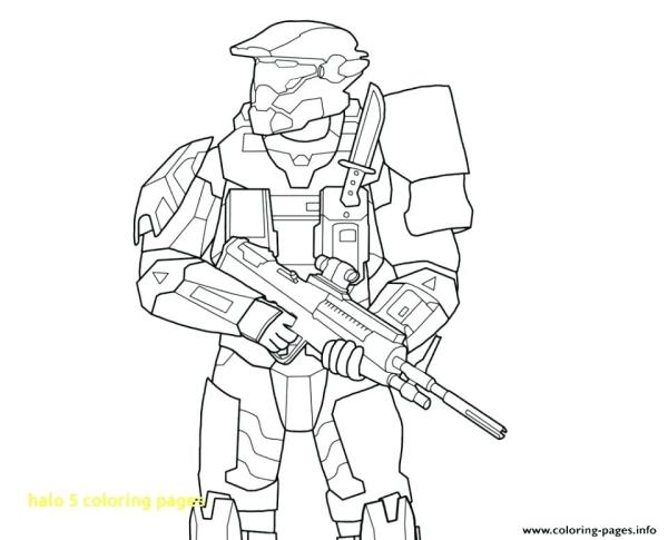 coloring pages halo # 49