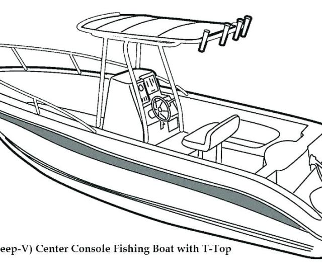 Speed Boat Coloring Pages At Getdrawings Free Download