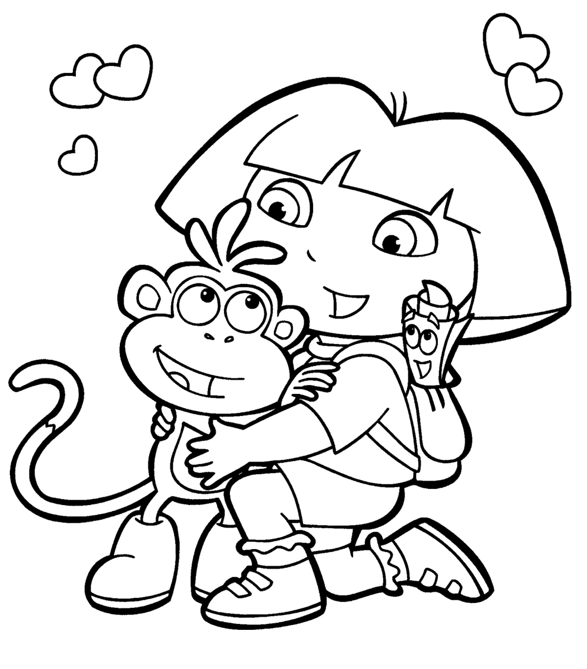 Spiderman Cartoon Coloring Pages At Getdrawings
