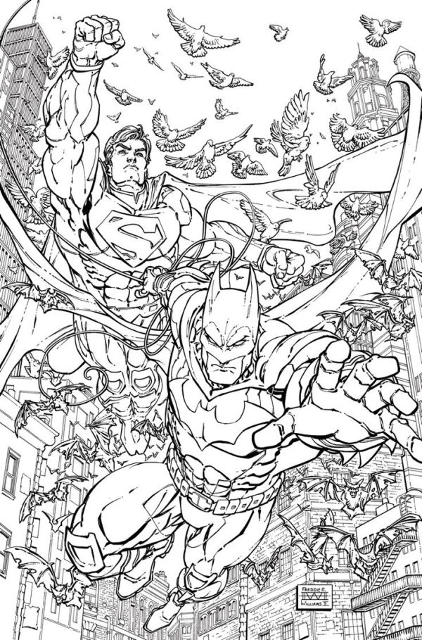 dc coloring pages # 42