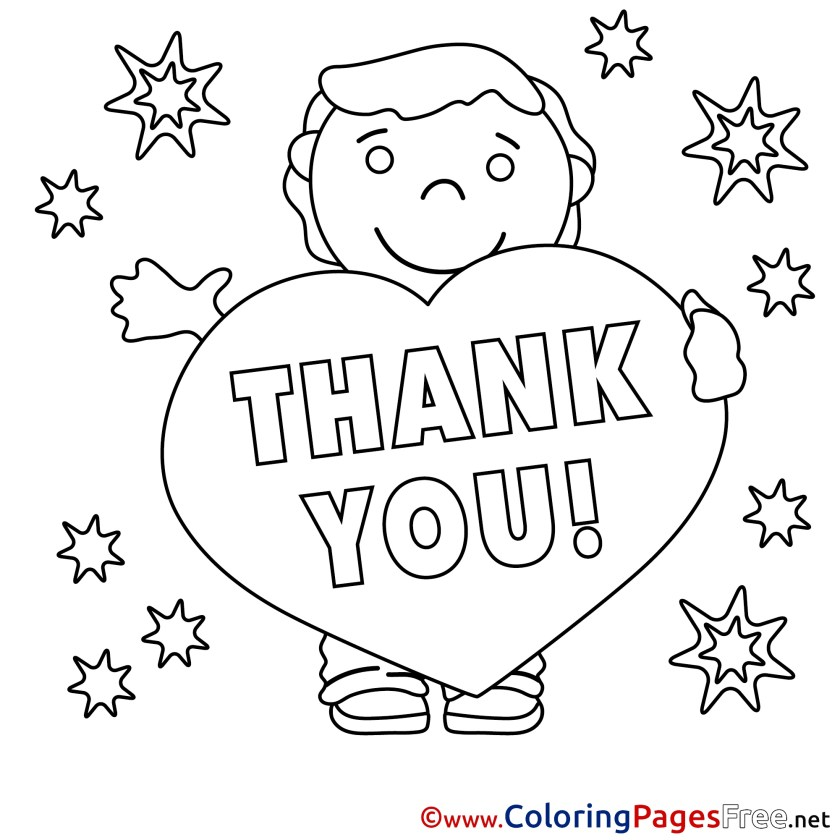 thank you coloring pages free at getdrawings  free download