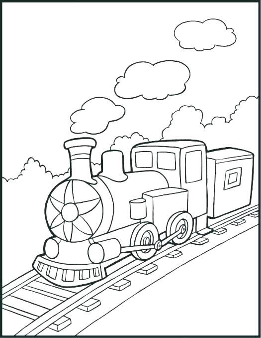 train coloring # 24