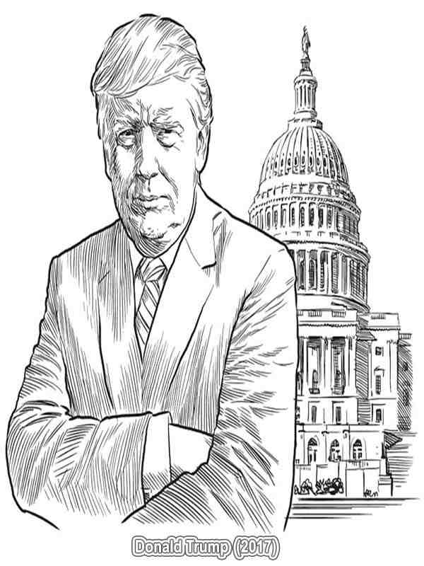 presidents coloring pages # 31