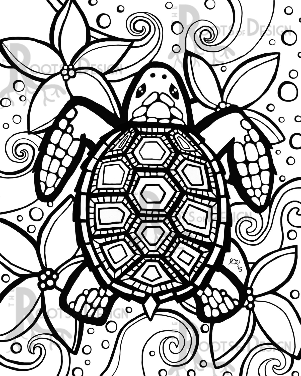 Turtle Coloring Pages To Print At Getdrawings