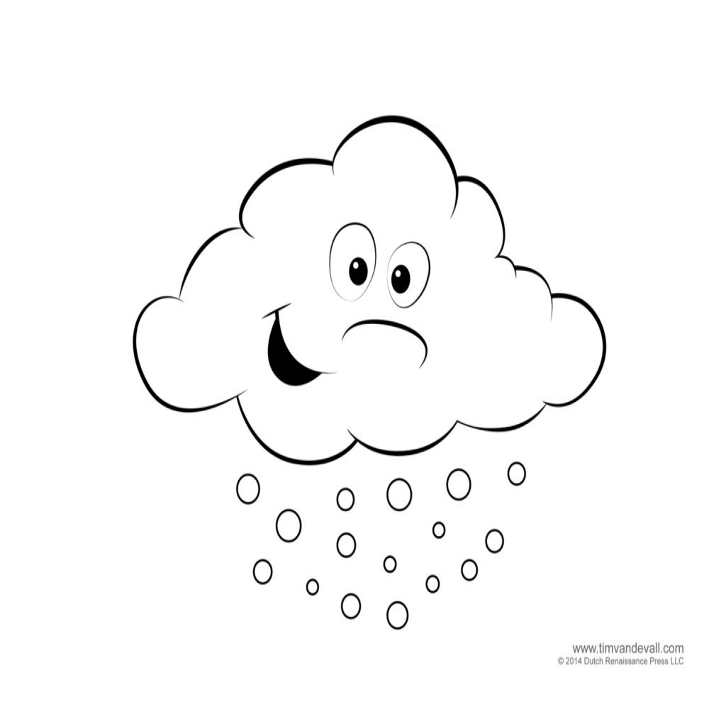 Weather Coloring Pages For Preschool At Getdrawings