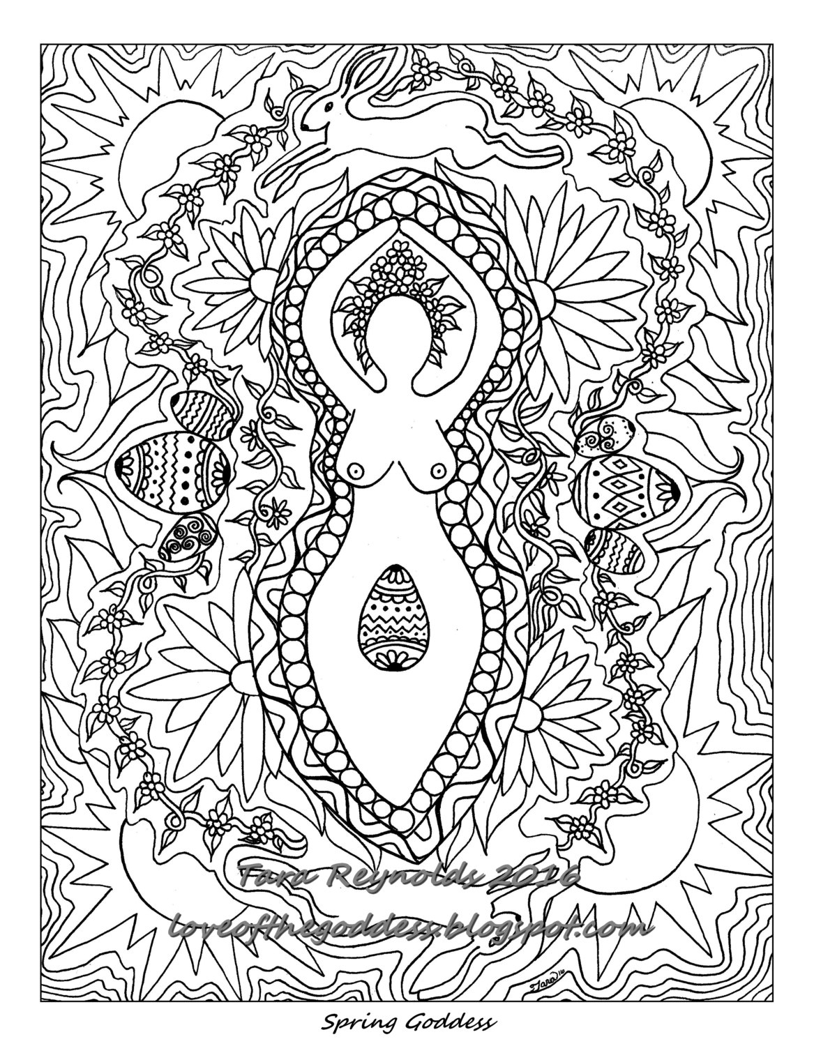 Wiccan Coloring Pages At Getdrawings