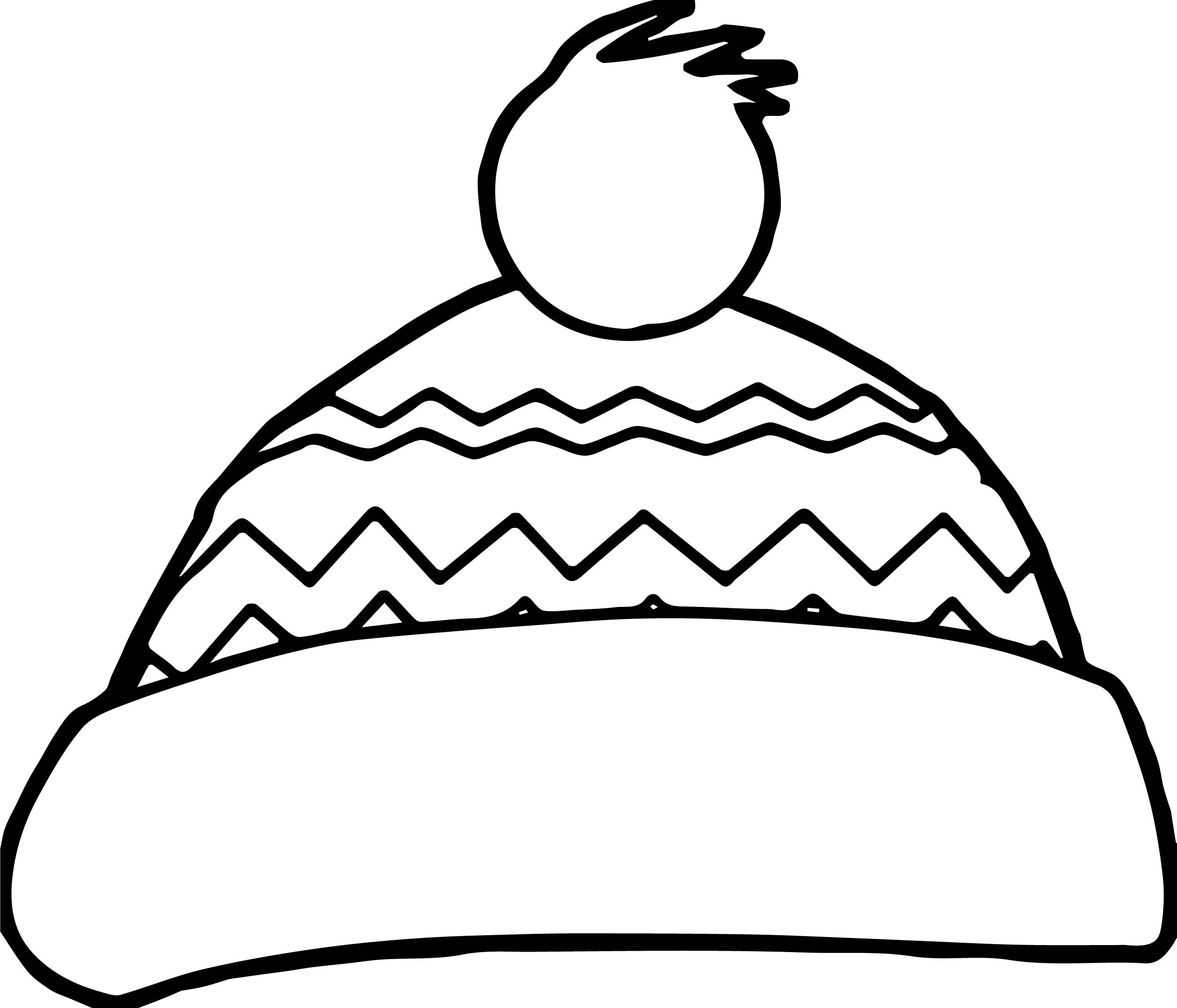 Winter Scarf Coloring Pages At Getdrawings
