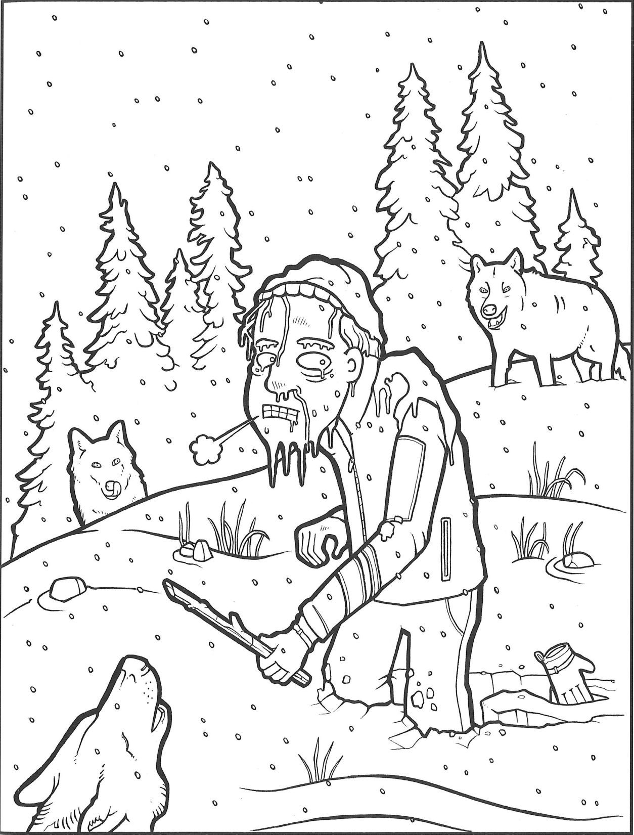 Yellowstone National Park Coloring Pages At Getdrawings