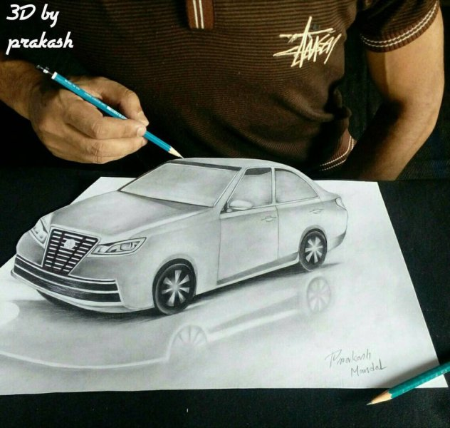 3d Car Drawing at GetDrawings com   Free for personal use 3d Car     917x871 3d car drawing by prakash mandal by prakashmandal on DeviantArt