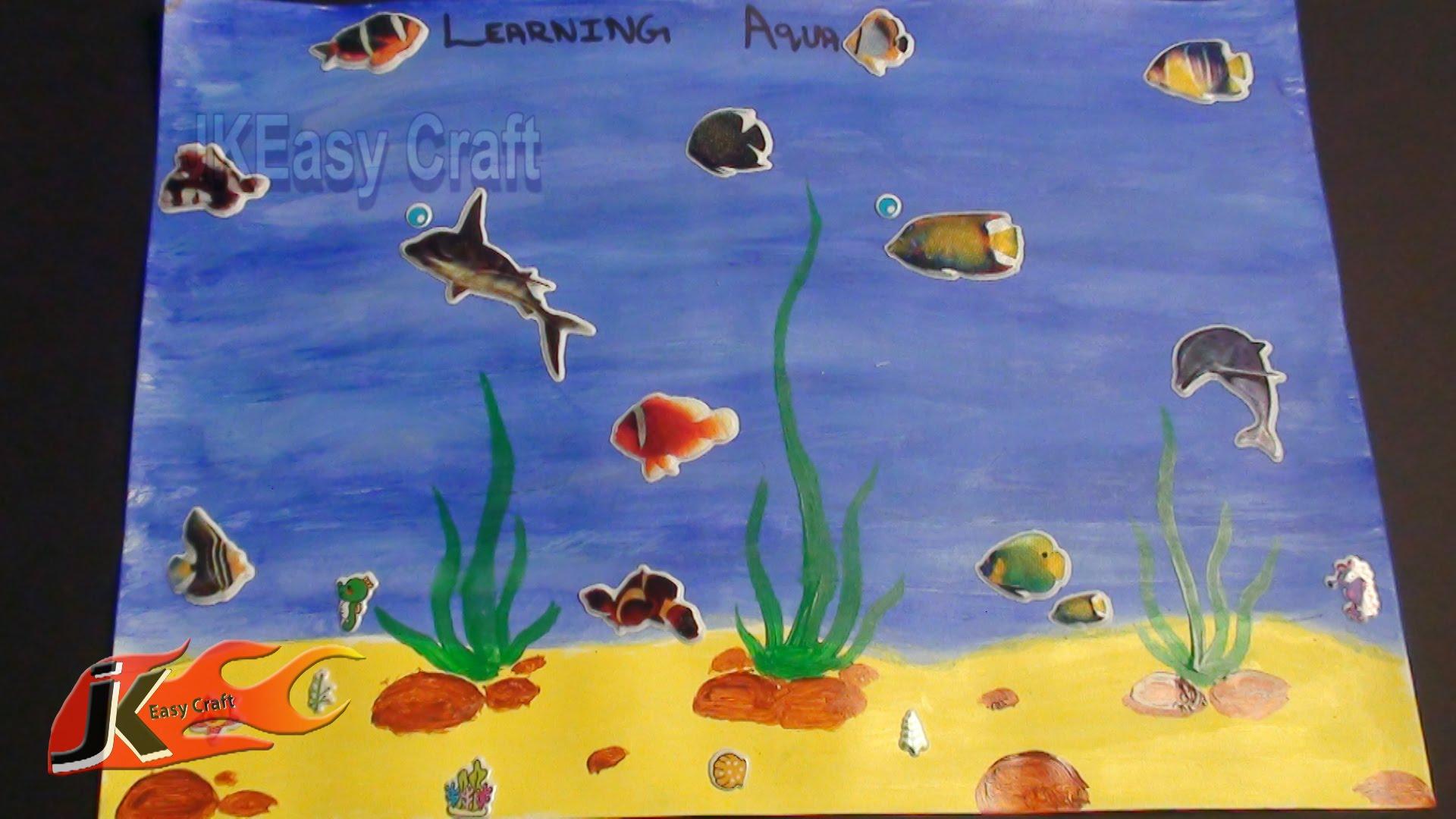 Aquarium Drawing For Kids At Getdrawings
