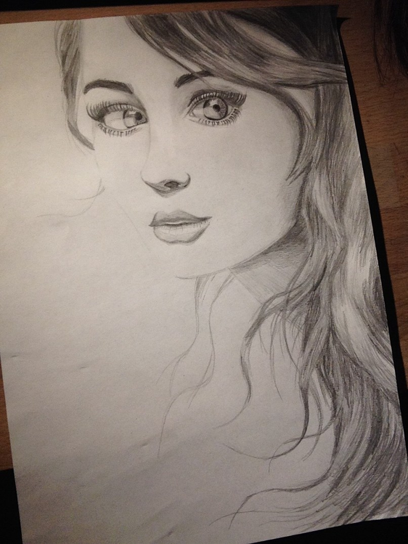 Beautiful girl drawing at getdrawings com free for personal use